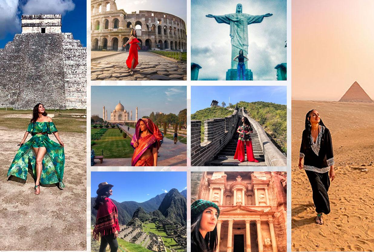 7 maravillas del mundo ¡Mision Cumplida! | Carmen Dominicci